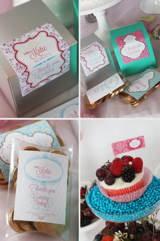 Let them Eat Cake- printable Marie Antoinette Bridal Shower