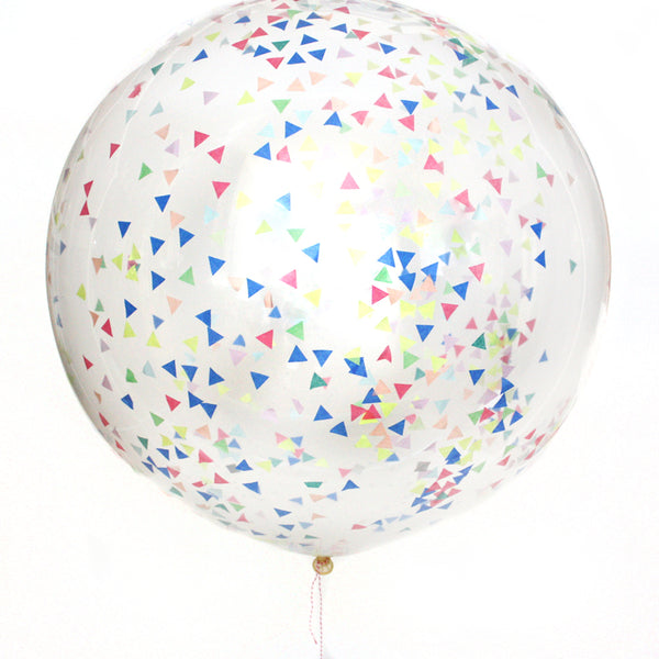 Let's Get This Party Started Confetti Balloon