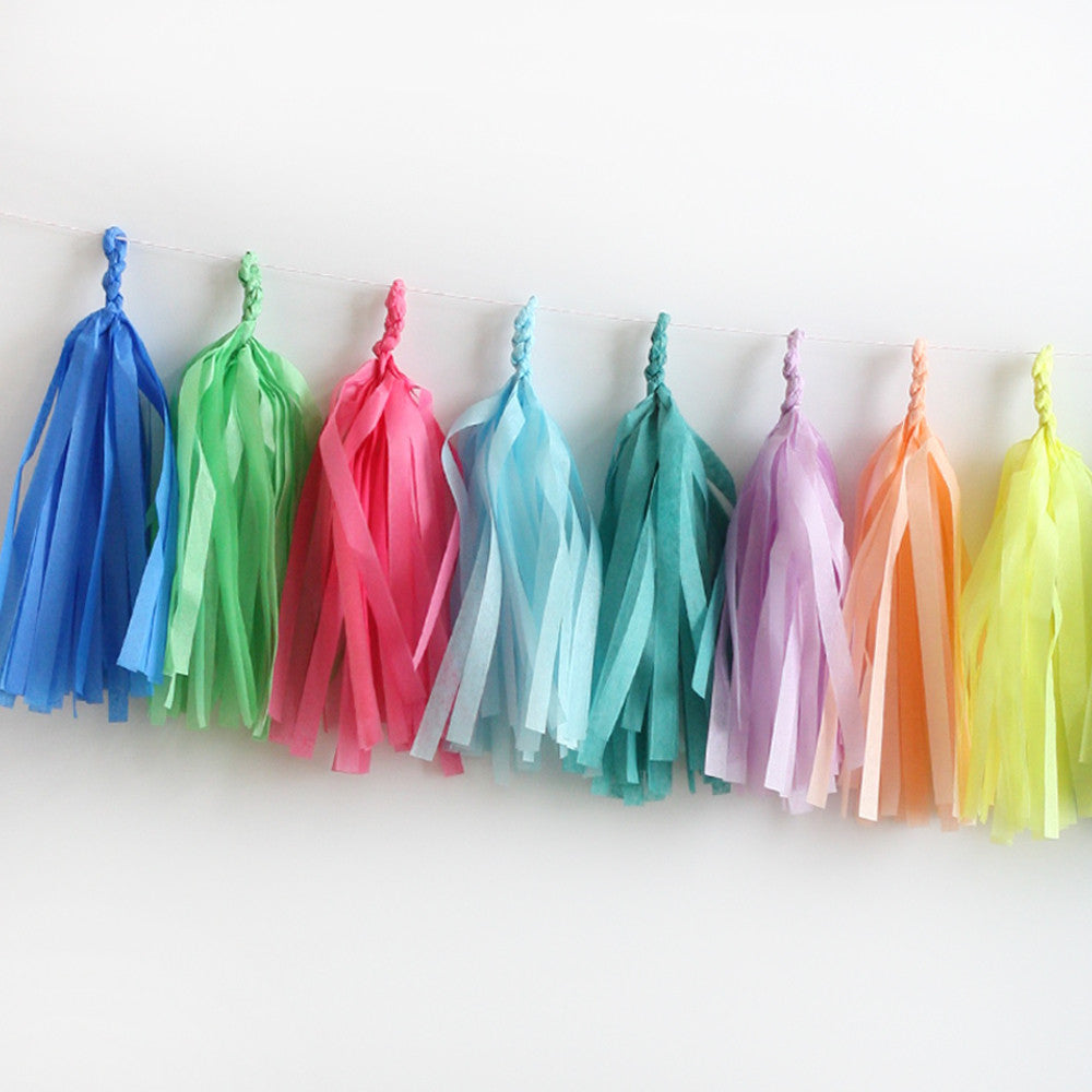 Party Animal Fringe Tassel Garland Kit