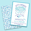 Lets shower the bride to be- Bridal or Baby Shower Invitation