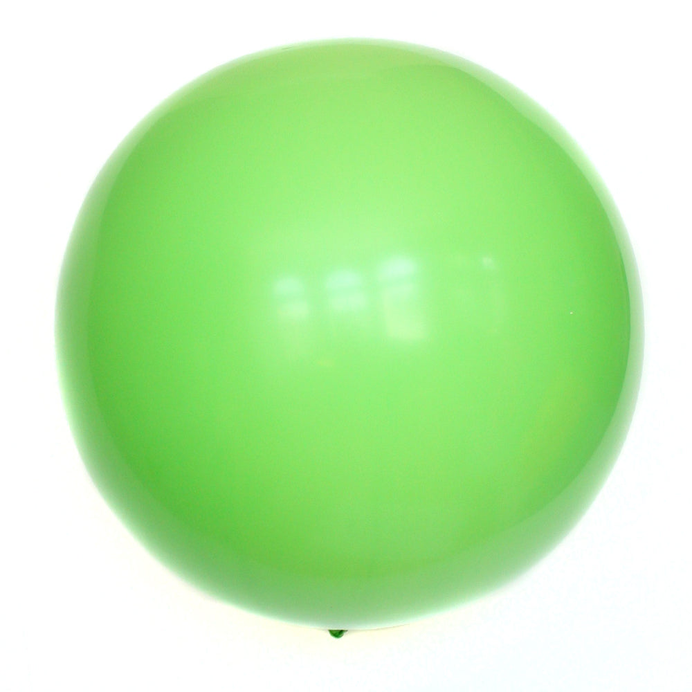 "36"" Lime Green Solid Balloon"
