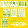 LUCKY Collection- Modern day St Patricks Day printable collection by Wants and Wishes