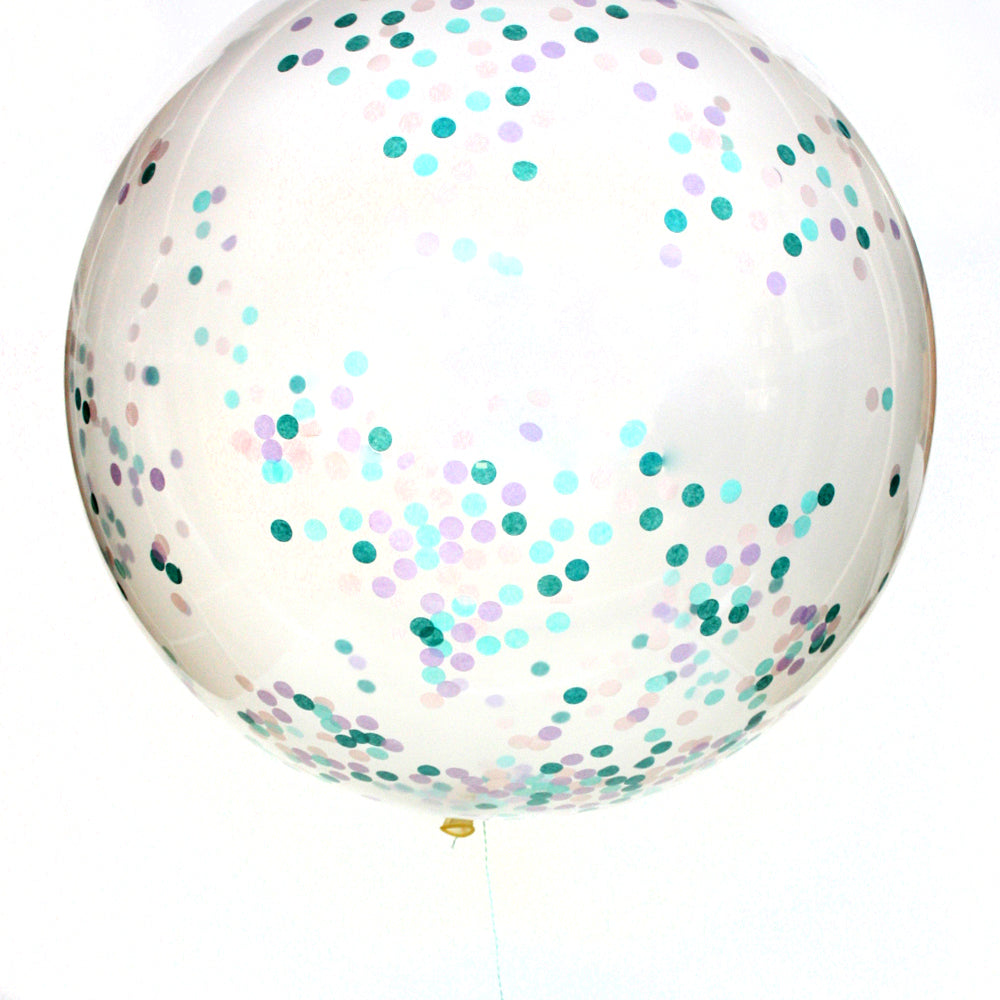 Mermaid Confetti Balloon