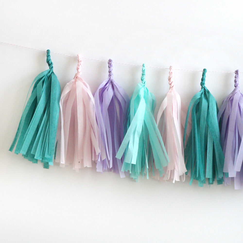 Mermaid Fringe Tassel Garland Kit