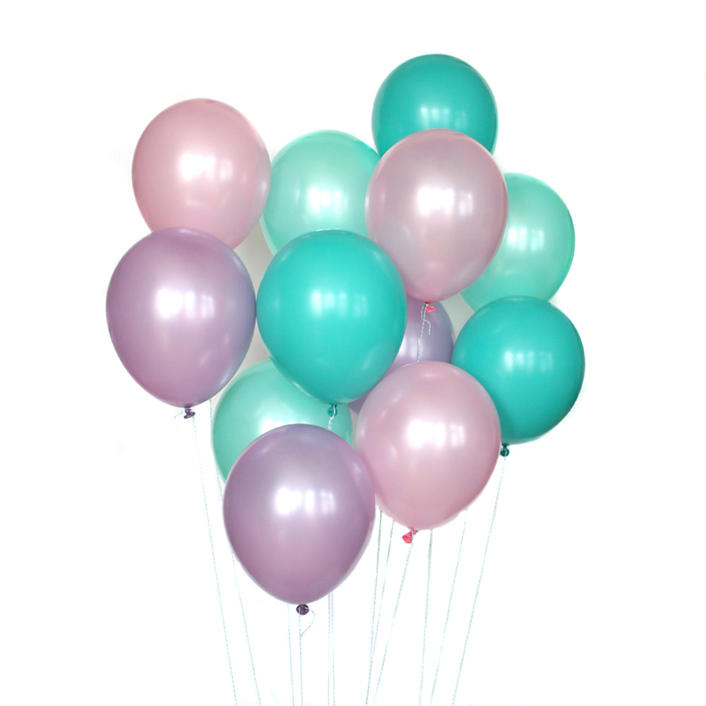 Mermaid Party Balloon Bundle