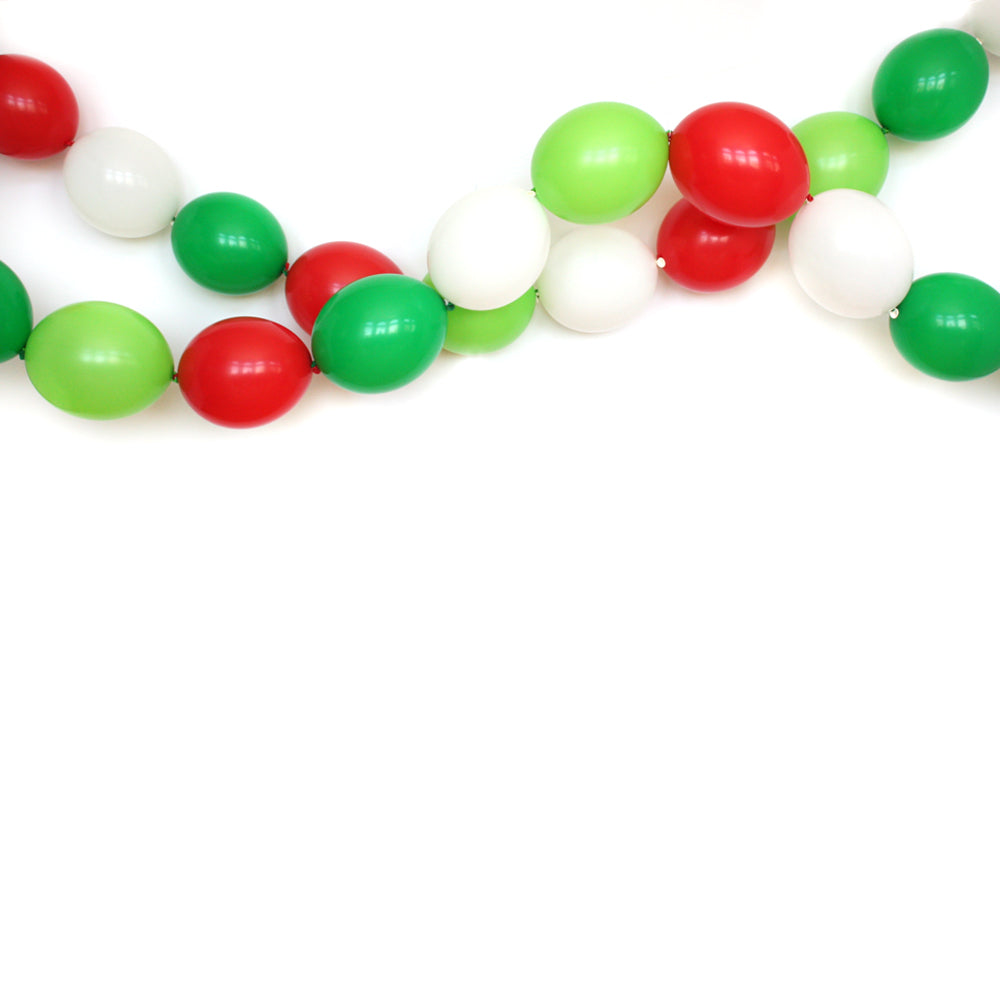 Merry Everything Link Balloon Garland