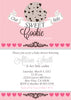 Our Sweet little Cookie Baby Shower invitation