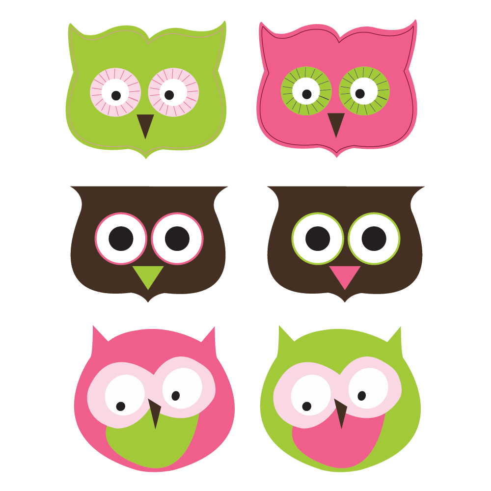 printable Owl favor toppers- Soda Pop Collection