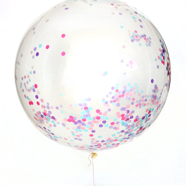 Princess Confetti Balloon