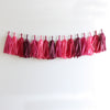 Pomegranate Fringe Tassel Garland Kit or Fully Assembled