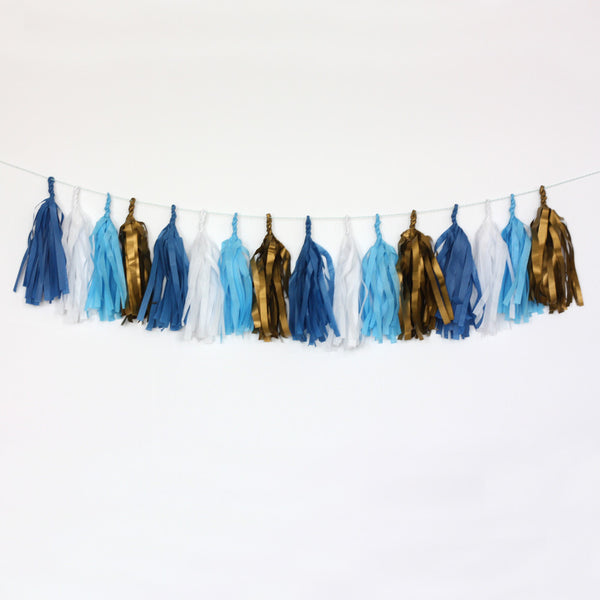 Prince Fringe Tassel Garland Kit or Fully Assembled