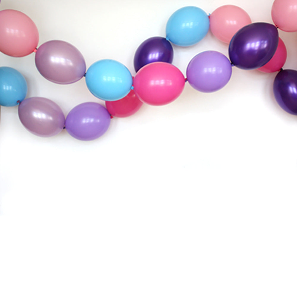 Princess Link Balloon Garland