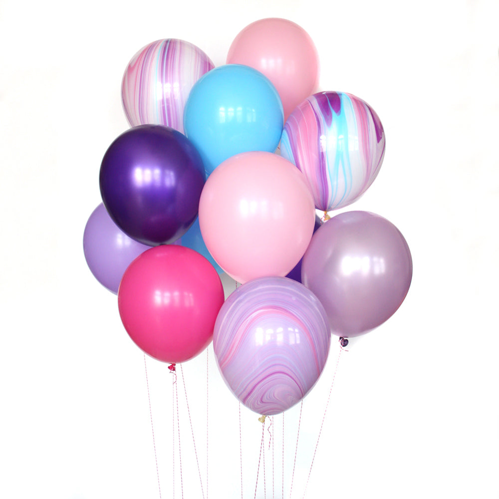 Princess Marble Deluxe Party Balloon Bundle