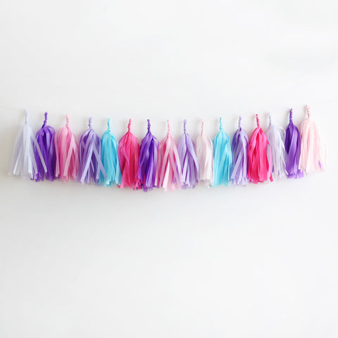 Princess Fringe Tassel Garland Kit