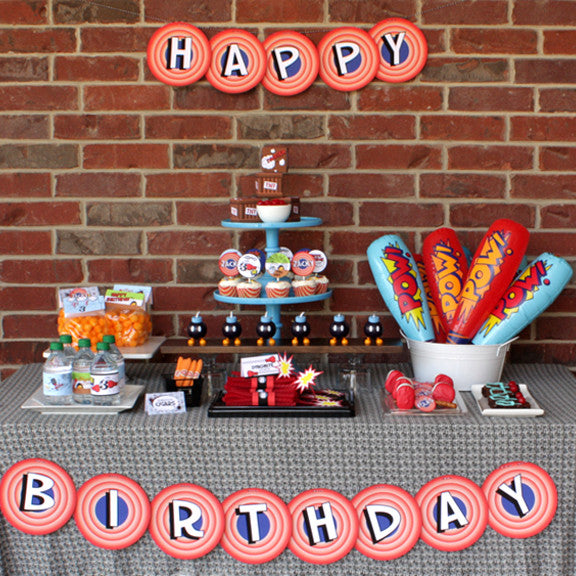 Tom & Jerry Birthday Party Printable Collection