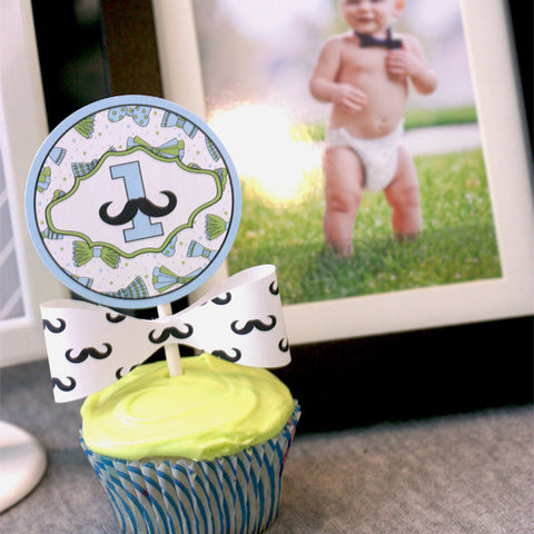 Mustache bash- Little man collection