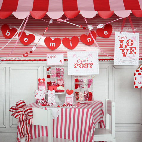 Printable Valentines Day Collection- Cupids Post Office by Wants and Wishes