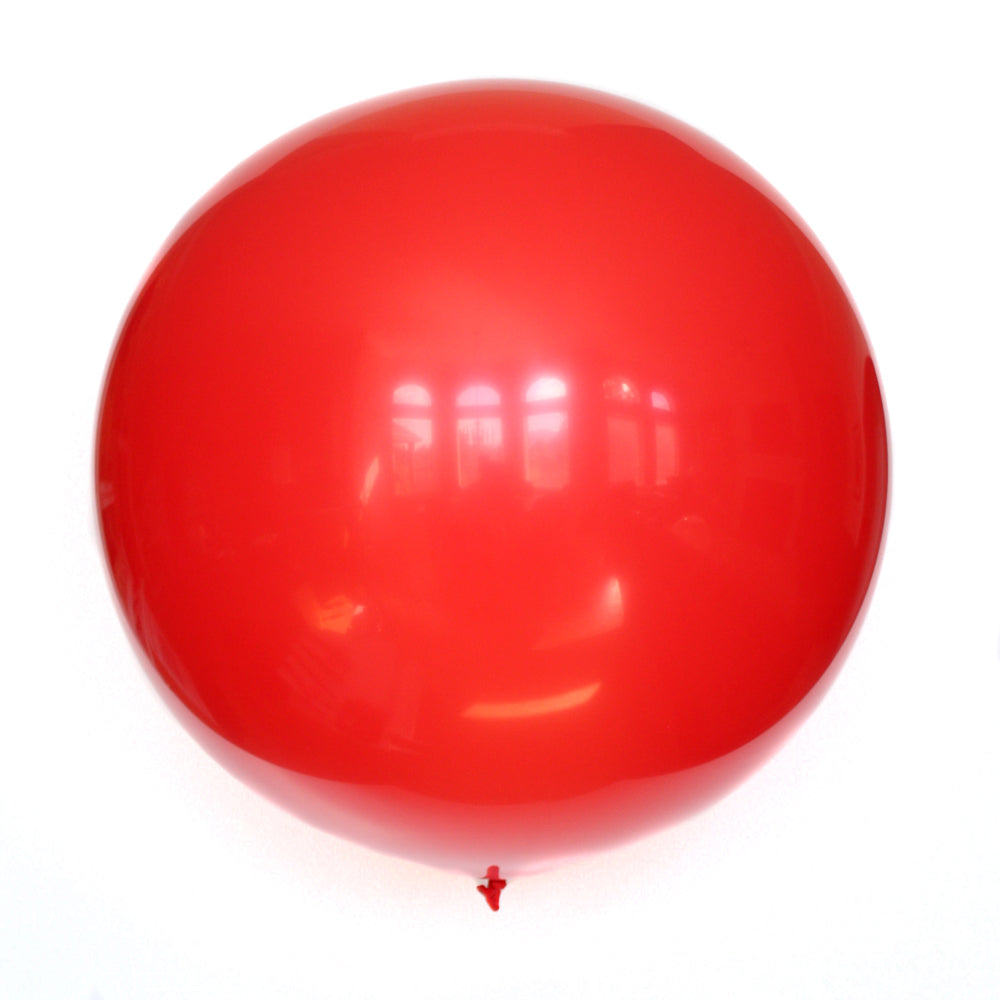 "36"" Red Solid Balloon"
