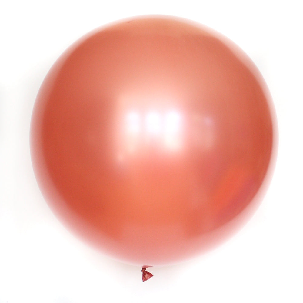 "36"" Rose Gold Solid Balloon"