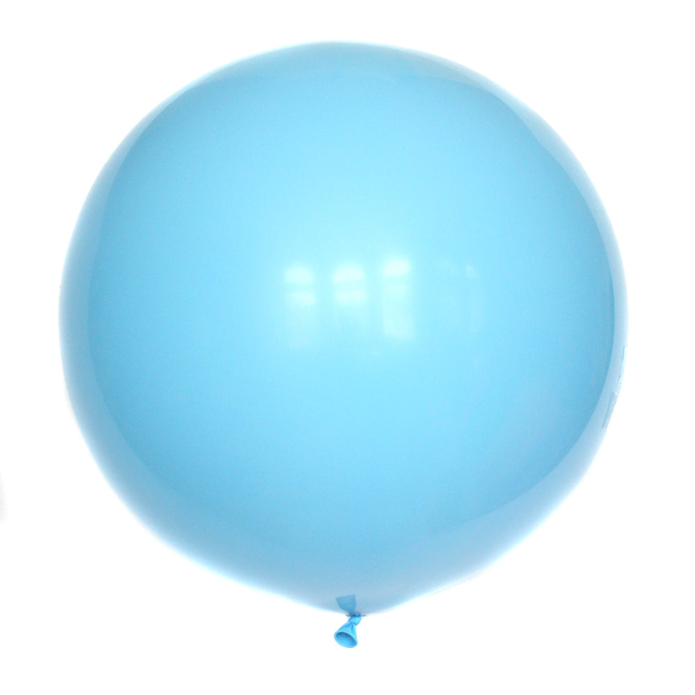 "36"" Sky Blue Solid Balloon"
