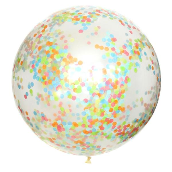 Summer Days Confetti Balloon