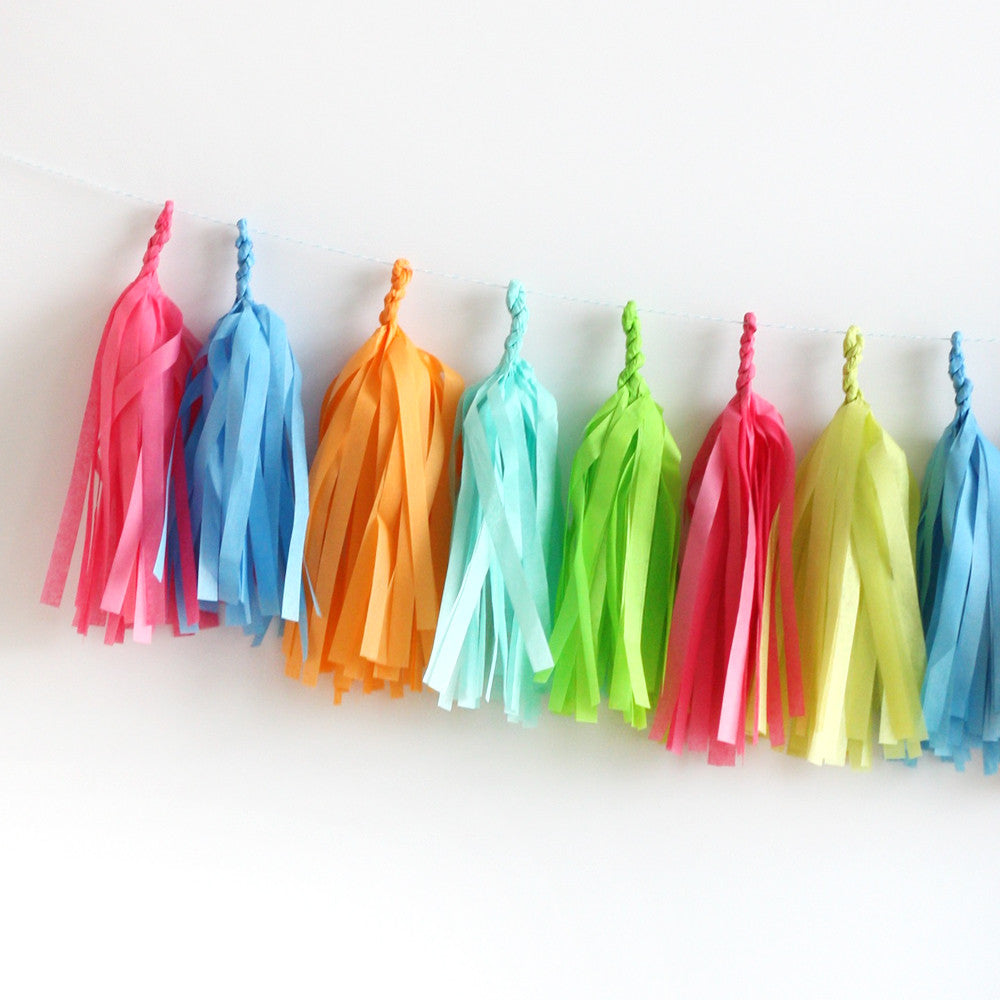 Summer Days Fringe Tassel Garland Kit