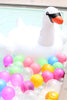 Swan Pool Float Swim Birthday Party