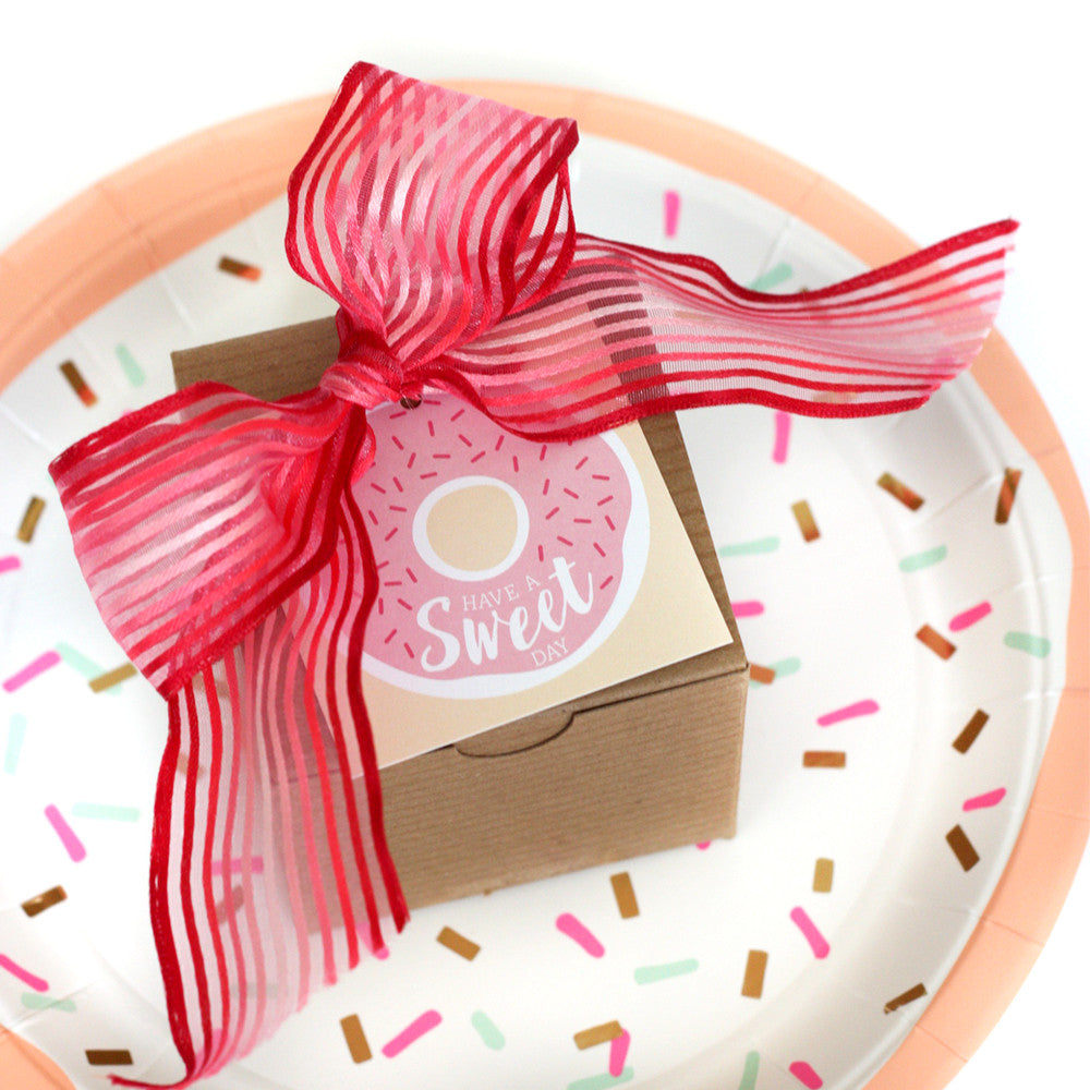 Have a Sweet Day Donut gift tag