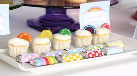 Printable Taste the RAINBOW Collection by Wants and Wishes