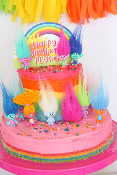 Trolls Printable Birthday Party Collection Wants And Wishes