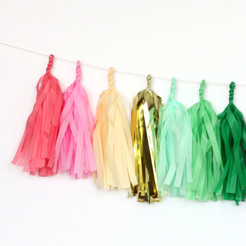 Tropical Fringe Tassel Garland Kit