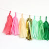 Tropical Fringe Tassel Garland Kit or Fully Assembled