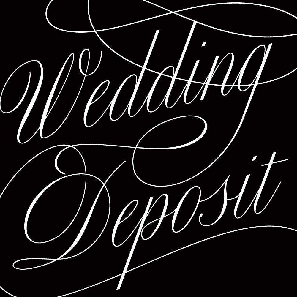 Wedding Invitation Deposit