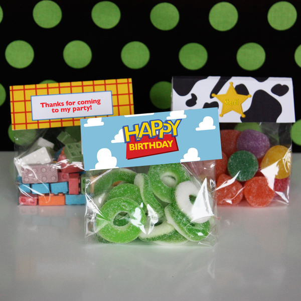 Printable Woody Toy Story FULL Birthday Party Collection