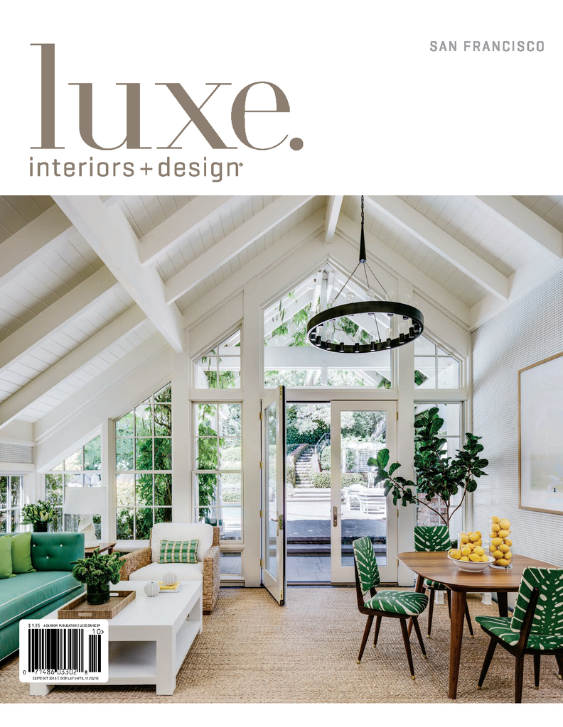 Luxe Interiors & Design Features Half Full