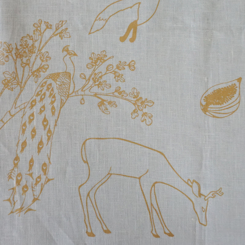 Franz - Morning Light - Linen Fabric
