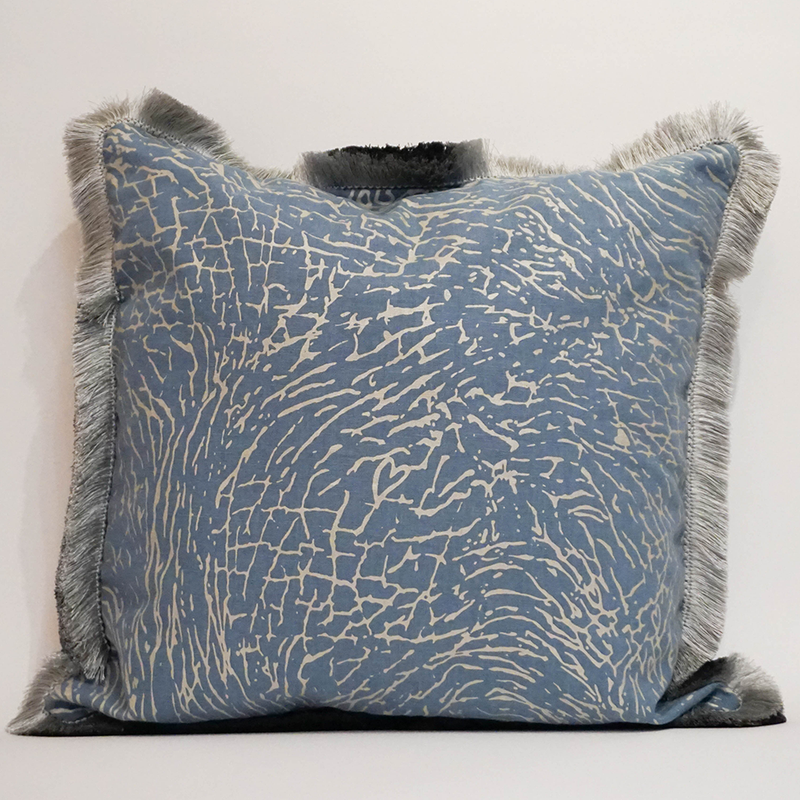 "Elephant Oasis - 22"" Pillow"