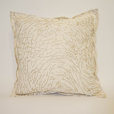 "Elephant Tusk - 18"" Pillow"