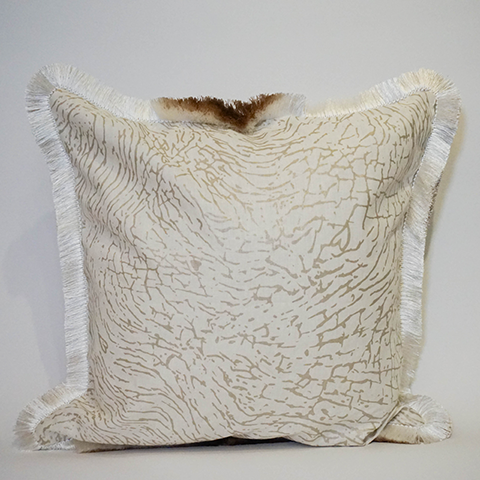 "Elephant Tusk - 22"" Pillow"