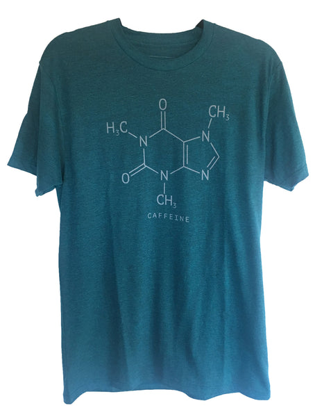 4th & Rose Caffeine Molecule Men's Tee