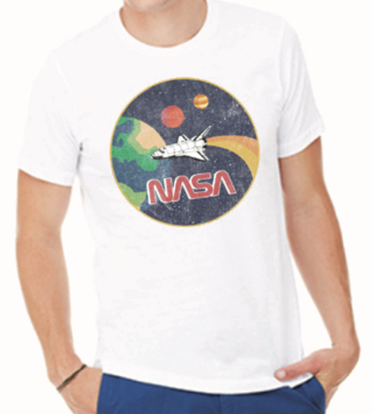 4th & Rose NASA Apollo White Tee