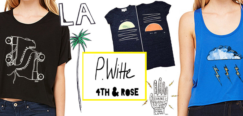 4th & Rose Shop P. Witte Tees and Tanks