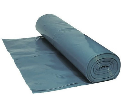4 Metre Wide Blue Polythene Sheeting DPM - 1200 Gauge