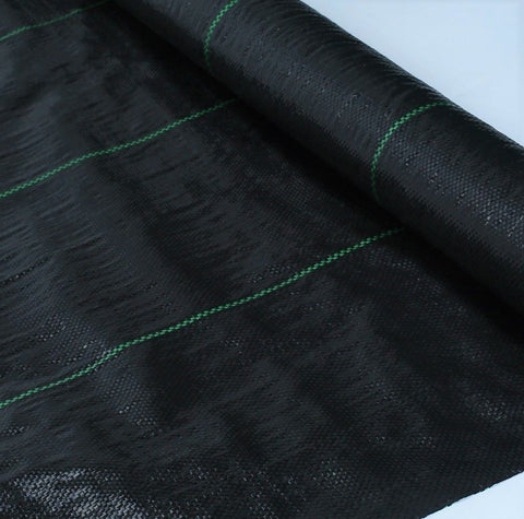 3 Metre Wide Weed Control Fabric - Weed Membrane - 100 GSM