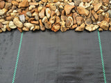 2 Metre Wide Weed Control Fabric - Weed Membrane - 100 GSM