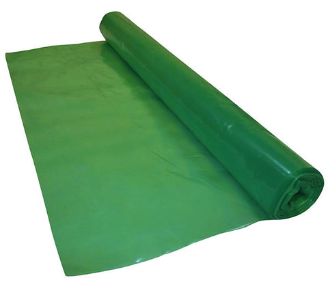 2.5 Metre Wide Green Vapour Barrier Polythene Sheeting 125 Micron / 500 Gauge
