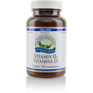 Vitamin D3 1000 IU (180 tablets)