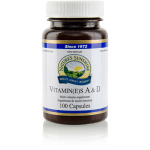 Vitamin A & D (100 soft gel capsules)