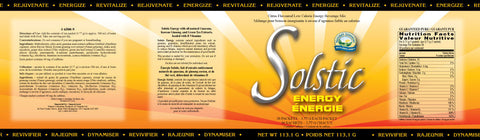 Solstic Energy (30 packets, 3.77g each)