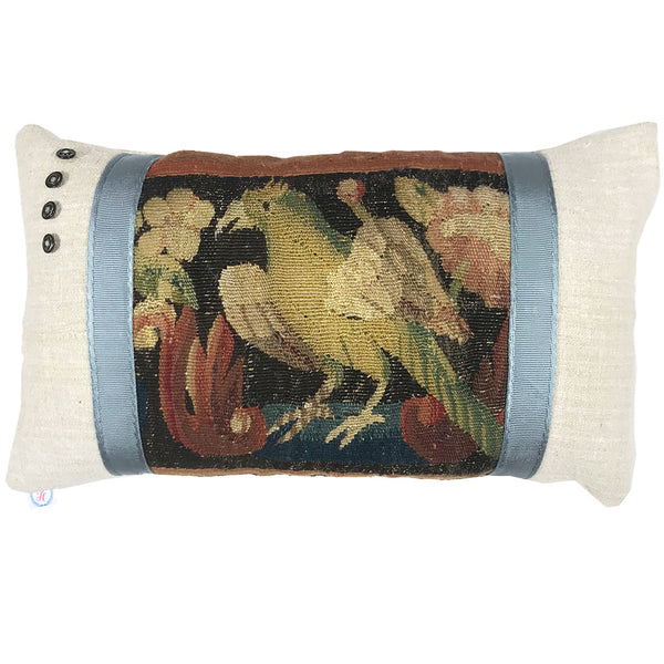 17th Century Tapestry Border Pillow